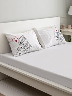 Bugs Bunny Baskılı Yastık Kılıfı 2'li