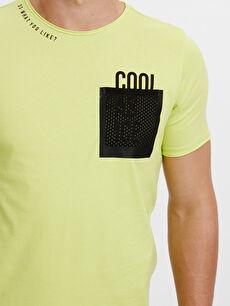 %100 Pamuk Baskılı Tişört