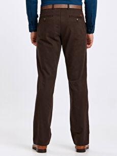 Erkek Geniş Kalıp Gabardin Chino Pantolon