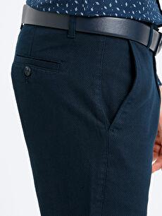 %97 Pamuk %3 Elastan Rahat Kalıp Armürlü Pantolon