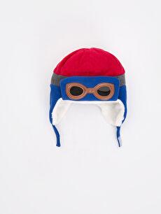 Kırmızı Erkek Çocuk Polar Şapka 8W0594Z4 LC Waikiki