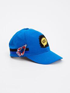 Mavi Erkek Çocuk Aplikeli Şapka 8W3282Z4 LC Waikiki