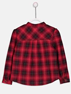 Kız Çocuk Kız Çocuk Flanel Ekose Gömlek