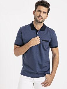 Polo Yaka Kısa Kollu Merserize Tişört