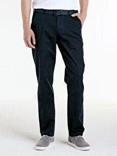 Erkek Standart Kalıp Gabardin Pantolon