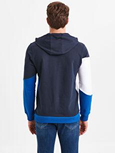 %86 Pamuk %14 Polyester  Aile Kolleksiyonu Kapüşonlu Sweatshirt