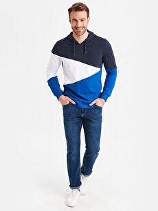 Erkek Aile Kolleksiyonu Kapüşonlu Sweatshirt