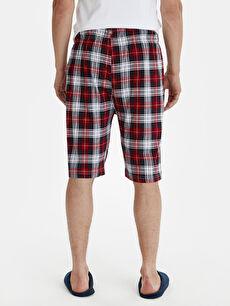 Erkek Standart Kalıp Ekose Pijama Alt