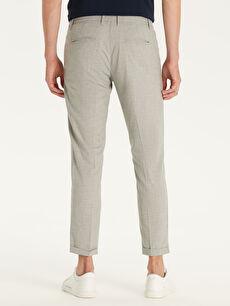Erkek Slim Fit Poliviskon Bilek Boy Pantolon