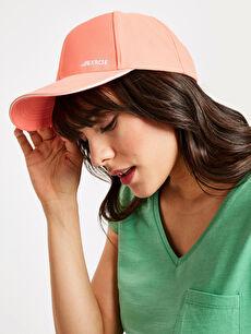 Yazı Baskılı Neon Şapka