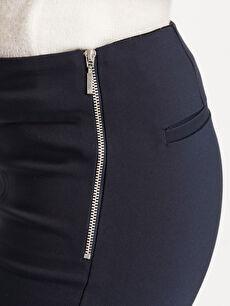 %54 Pamuk %42 Polyester %4 Elastan Bilek Boy Skinny Pantolon