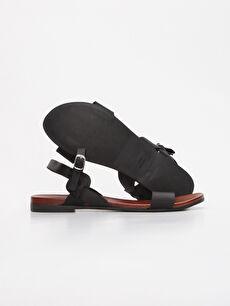 Kadın Kadın Deri Sandalet