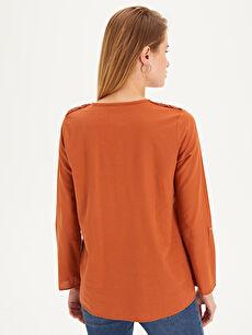 Kadın Dantelli Pamuklu Bluz