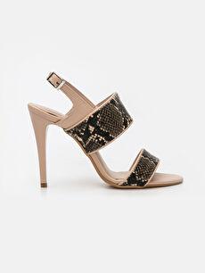 Çok Renkli Kadın Sivri Topuklu Ayakkabı 9SY627Z8 LC Waikiki