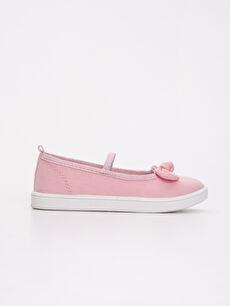 Pembe Kız Çocuk Babet Ayakkabı 9S0283Z4 LC Waikiki