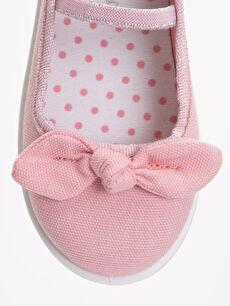 LC Waikiki Pembe Kız Çocuk Babet Ayakkabı