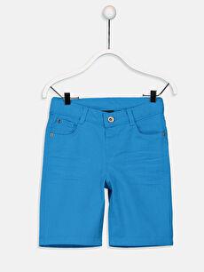Mavi Erkek Çocuk Gabardin Bermuda 9S1291Z4 LC Waikiki