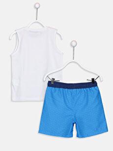 %100 Pamuk %100 Polyester %100 Polyester  Erkek Çocuk Pijamaskeliler Yüzme Takım