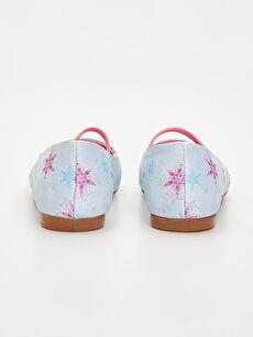 Kız Çocuk Frozen Babet Ayakkabı