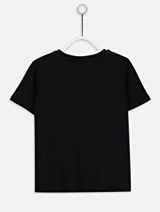 %100 Pamuk Baskılı Normal Bisiklet Yaka Tişört Kısa Kol Erkek Çocuk Star Wars Pamuklu Tişört