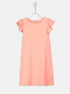 Kız Çocuk Örme Elbise 2'li