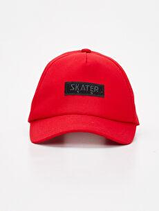 Kırmızı Erkek Çocuk Pamuklu Şapka 9SQ063Z4 LC Waikiki