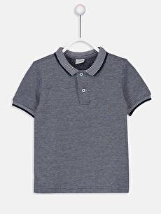 Erkek Çocuk Pamuklu Polo Yaka Tişört