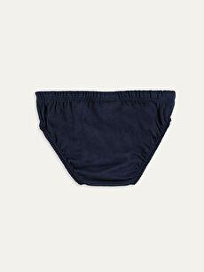 %100 Pamuk Standart İç Giyim Alt Erkek Çocuk Pamuklu Slip