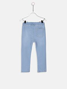 %80 Pamuk %18 Polyester %2 Elastan  Erkek Bebek Jean Pantolon
