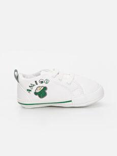 Beyaz Erkek Bebek Spor Ayakkabı 9SK895Z1 LC Waikiki