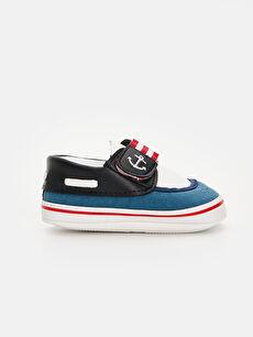 Lacivert Erkek Bebek Yürüme Öncesi Spor Ayakkabı 9SO279Z1 LC Waikiki