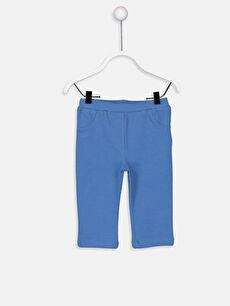Mavi Kız Bebek Pamuklu Tayt 9SU363Z1 LC Waikiki