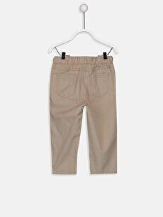 %100 Pamuk Bol Erkek Bebek Gabardin Pantolon