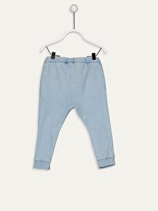 %72 Pamuk %23 Polyester %5 Elastan  Erkek Bebek Jogger Pantolon