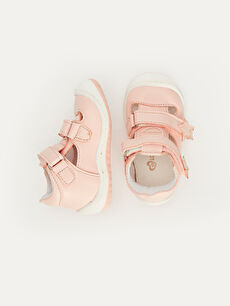 %0 Diğer malzeme (poliüretan) İlk Adım Ayakkabısı Kısa(0-2cm) Cırt Cırt Kısa Pamuk Astar Kız Bebek İlk Adım Cırt Cırtlı Ayakkabı
