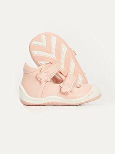 Kız Bebek Kız Bebek İlk Adım Cırt Cırtlı Ayakkabı