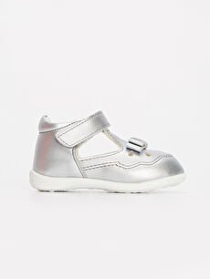 Kız Bebek İlk Adım Cırt Cırtlı Ayakkabı