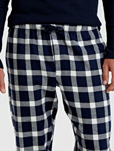 %100 Pamuk Standart Kalıp Ekose Pijama Alt