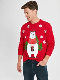 Aile Koleksiyonu Yılbaşı Temalı Sweatshirt