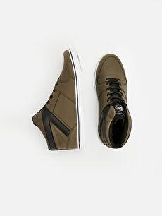 Diğer malzeme (pvc)  Erkek Bilekli Spor Ayakkabı