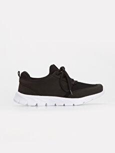 Siyah Erkek Bağcıklı Spor Ayakkabı 9WG151Z8 LC Waikiki