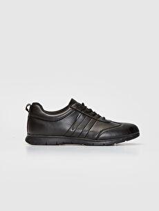 Siyah Erkek Bağcıklı Günlük Ayakkabı 9WN386Z8 LC Waikiki