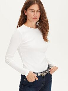 Düz Basic Pamuklu Tişört