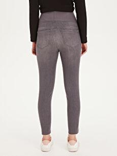 Kadın Skinny Hamile Jean Pantolon