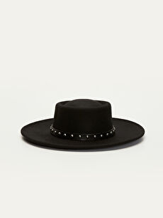 Siyah Fötr Şapka 9W4979Z8 LC Waikiki