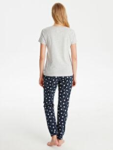 Kadın Baskılı Pijama Takımı