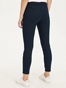 Kadın Düz Paça Esnek Pantolon