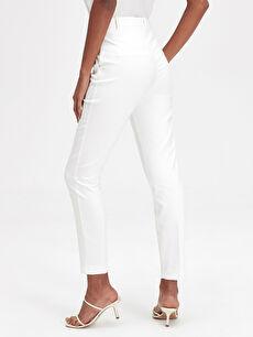Kadın Bilek Boy Slim Pantolon