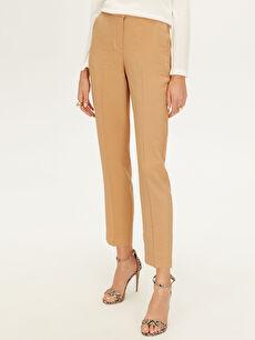 Kadın Normal Bel Gabardin Pantolon