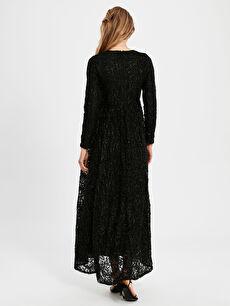 Kadın Dantelli Uzun Abiye Elbise